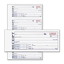 ABFDC1182 - Adams Money/Rent Receipt Book by Adams