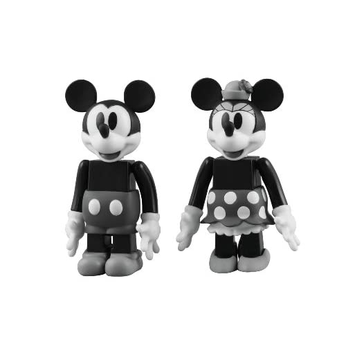 Mickey & Minnie Mouse Kubrick Figure Set Disney NEW