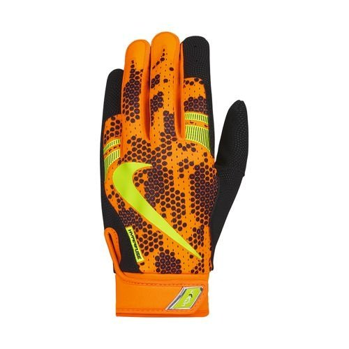 Nike Batting Gloves Orange: Nike Vapor Elite Pro 3.0 Batting Glove Orange/Black X