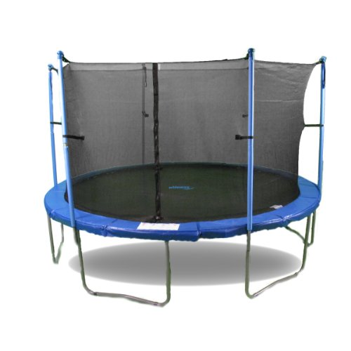 Upper Bounce Trampoline and Enclosure Set Equipped with The New Upper Bounce Easy Assemble Feature, 14-Feet