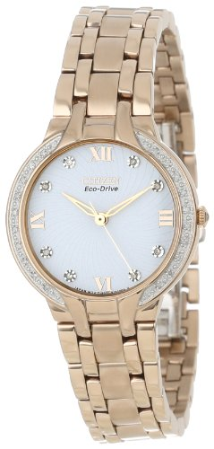 Citizen Women's EM0123-50A  Eco-Drive Bella Diamond Accented Watch