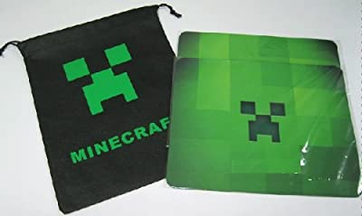 Minecraft Mouse Pad 10 X 8 Inchs W Free Bag from A-factory