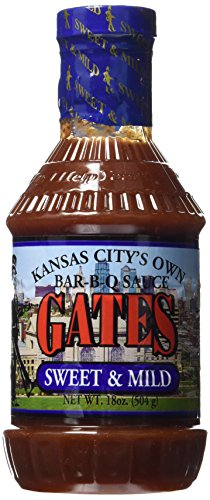 Gates Bar-B-Q Sauce (Sweet & Mild) (Bbq Sauce From Hell compare prices)