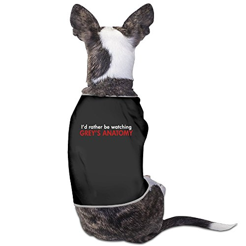 LOVE-Funny Grey's Anatomy Fan Pet Dog Shirts. (Greys Anatomy Merchandise T Shirt compare prices)