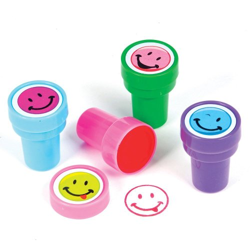 ~ 6 ~ Smile Face Stampers / Stamps ~ 1.5