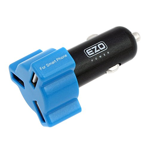 Ezopower 3-Port 4.8A Ultra Fast Usb Car Charger Adapter For Apple Iphone 6 / 6 Plus / Ipad Air 2 / Ipad Mini 3 / Samsung Galaxy S5 / Galaxy Note 4 / Lg G3 And Other Tablet Smartphone And More
