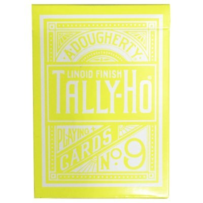 bicycle-cartes-a-jouer-tally-ho-reverse-circle-back-jaune-yellow-playing-cards