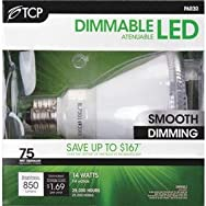 TCP PAR30 Dimmable LED Floodlight Light Bulb-14W PAR30 LED 30KBULB