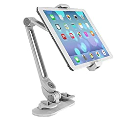 PUR - Universal iPad Mount / iPad Holder / iPad Stand with Suction Cup Base (White)