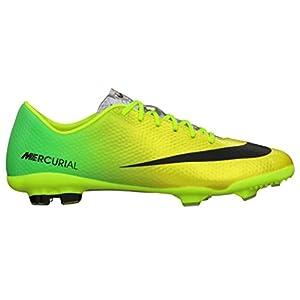 555601 703|Nike Mercurial Vapor IX FG Yellow|33 US 1.5Y