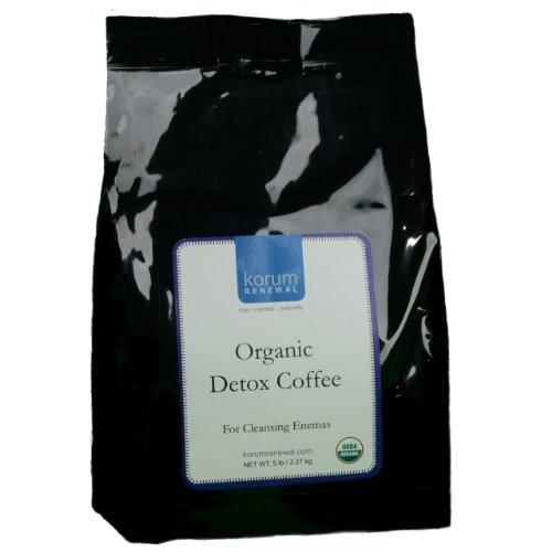 Korum Renewal Organic Detox Enema Coffee - 5 Lbs. Fine Grind - Ideal For Gerson Therapy