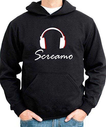 Screamo Headphones Men Hoodie