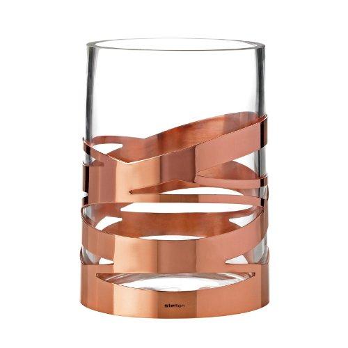 Vase TANGLE, kupferbeschichteter Edelstahl