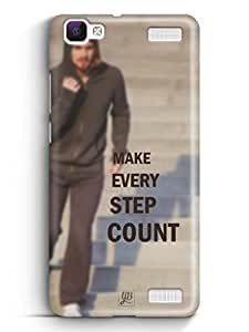 YuBingo Make Every Step Count Mobile Case Back Cover for Vivo V1 Max