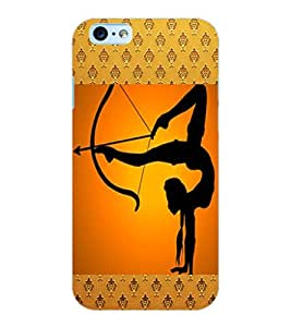 ColourCraft The Archer Design Back Case Cover for APPLE IPHONE 6