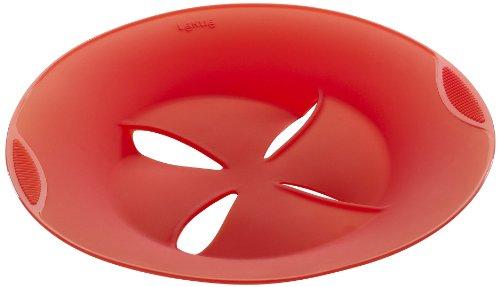 Lékué 1270300R10U002 Couvercle Anti-Débordement Silicone Platine Rouge