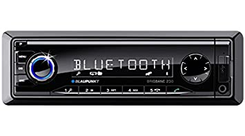 Blaupunkt Brisbane 230 Autoradios Bluetooth, En Façade