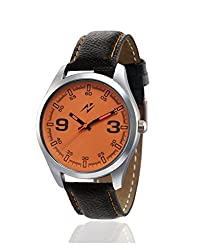 Yepme Orepha Mens Watch - Orange/Black - YPMWATCH1358