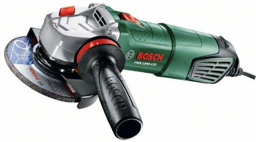Bosch-DIY-Winkelschleifer-PWS-1000-125-Handgriff-Schutzhaube-Koffer-1000-W-Leerlaufdrehzahl-11000-min-1-Schleifscheiben--125-mm