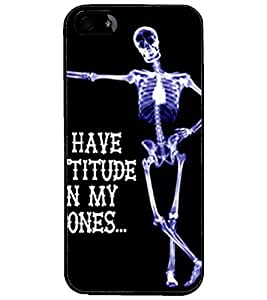 PrintDhaba Quote D-4902 Back Case Cover for APPLE IPHONE 4 (Multi-Coloured)