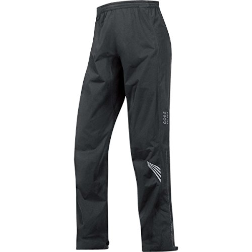 GORE BIKE WEAR Men's Long Cycling Rain Overpants, GORE-TEX Active, ELEMENT GT AS Pants, Size L, Black, PGMELE (Rain Pants Bike compare prices)