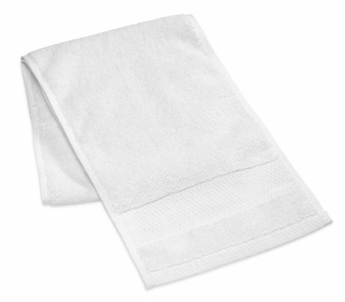 Bath Units Easy Reach Athletic Towel and Wash Cloth, White Athletic Bath