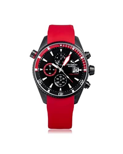 Strumento Marino Men's Red/Black SM113S/BK/NR/RS/NR Watch