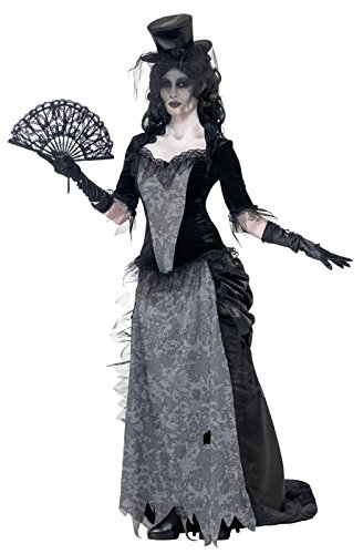 Ghost Town Widow Costume with Hat