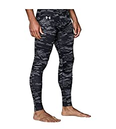 Under Armour Men\'s UA ColdGear® Infrared Fitted Leggings Medium Black