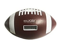 DE Football Piggy Bank Savings Jar - Digital Coin Counter Automatically Totals up Your Savings - Cheers \