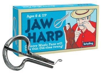 Jaw Harp by Schylling - Child's old fashioned musical instrument - 1