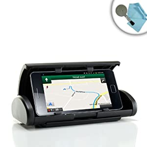 USA Gear GPS Navigation Dash Mount Holder for Samsung Galaxy Player 4.0 , Galaxy Player 4.2 , Galaxy Player 3.6 , Apple iPod Touch & More MP3 Players