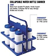 Champion Sports Wire Bottle and Collapsible Water Bottle Carrier (Call 1-800-234-2775 to order)