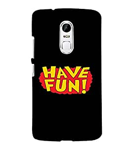 PrintVisa Fun Quotes Design 3D Hard Polycarbonate Designer Back Case Cover for LENOVO Vibe X3