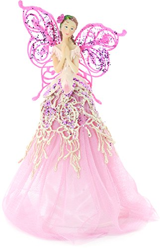 Glittery Angel Tree Topper