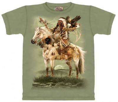 The Mountain Spirit Native American Horse Eagle Tee T-Shirt Adult M front-473300