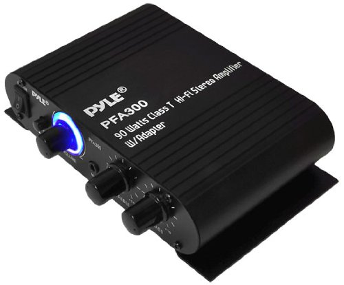 Pyle PFA300 90-Watt Class T Hi-Fi Stereo Amplifier with Adapter (Honda Crv 2012 Stereo compare prices)