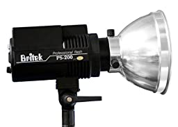 Britek PS-200B Battery Powered Strobe Light