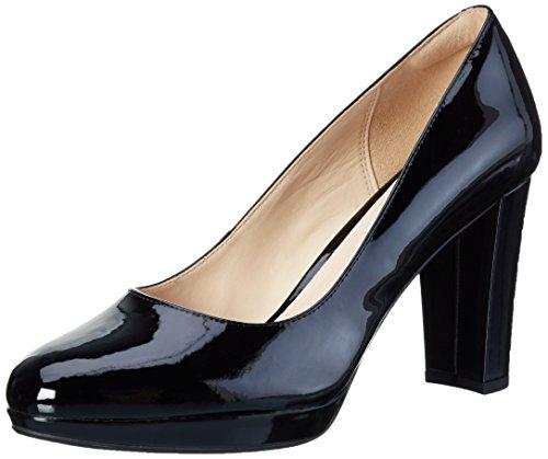 Clarks Kendra Sienna, Scarpe Con Tacco Donna, Nero (Black Patent), 40 EU