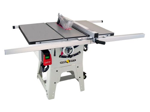 Steel City Tool Works 35990c 10 Inch Contractor Table Saw With Cast Iron Table Top Power Tool