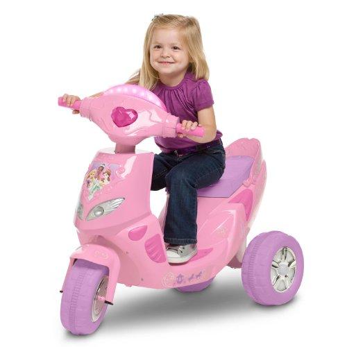 Kid Trax Princess Twinkling 6V Scooter