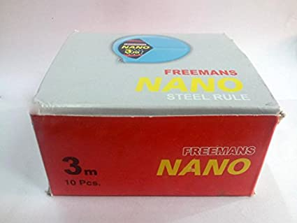 Nano-Steel-Rule-Measuring-Tape-(3-Meters-x-13mm,-Pack-of-10-pcs)-)