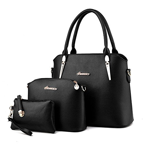 3pc-Set-Office-Lady-Womens-Large-Shoulder-Bags-Top-Handle-Cross-Satchel-Work-Place-Handbag