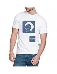 Chillum Men's Cotton T-shirt White