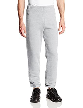 Russell Athletic Men's Dri-Power Closed-Bottom Fleece Pant, Ash, Small