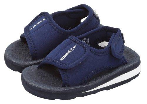 Speedo Zeu bambini sandali con chiusura a velcro schiuma espandsa nuovo - blu, 25.5