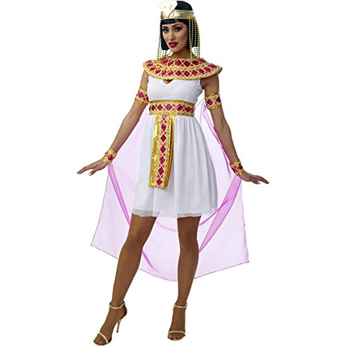 Sexy Pink Cleopatra Egyptian Queen Costume