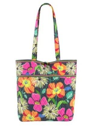 vera-bradley-damen-tote-tasche-mehrfarbig-jazzy-blooms