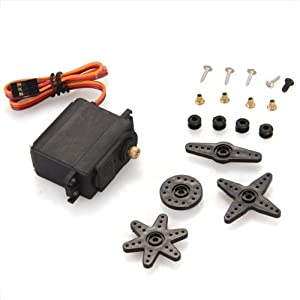 MG995 Micro Servo Motor 360 Degree 55g Metal Gear for RC Car Helicopter Robot