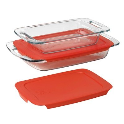 Pyrex  Easy Grab 4-Piece Value Pack, includes 1-ea 3-qt Oblo